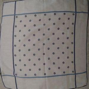 Gucci Vintage Pocket Square Handkerchief